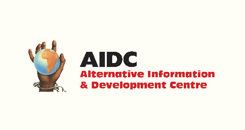 Alternative Information and Development Centre (AIDC) OSF-SA Open Society Foundation for South Africa Grantee