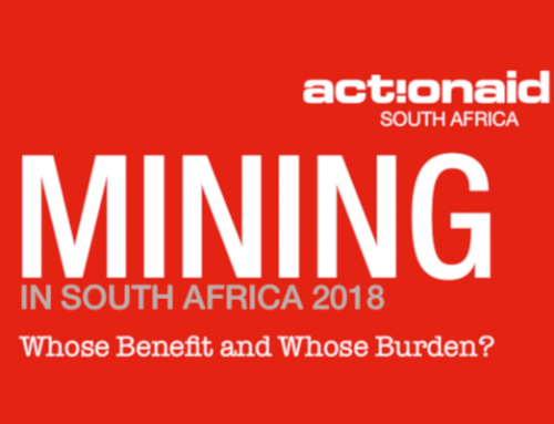 ActionAid South Africa Baseline Social Audit Report